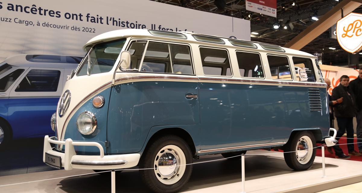 Saga Volkswagen Combi à Rétromobile : nos photos du mythique camping-car