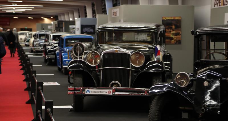 Nos photos du stand Tatra à rétromobile : petit constructeur, grande réputation