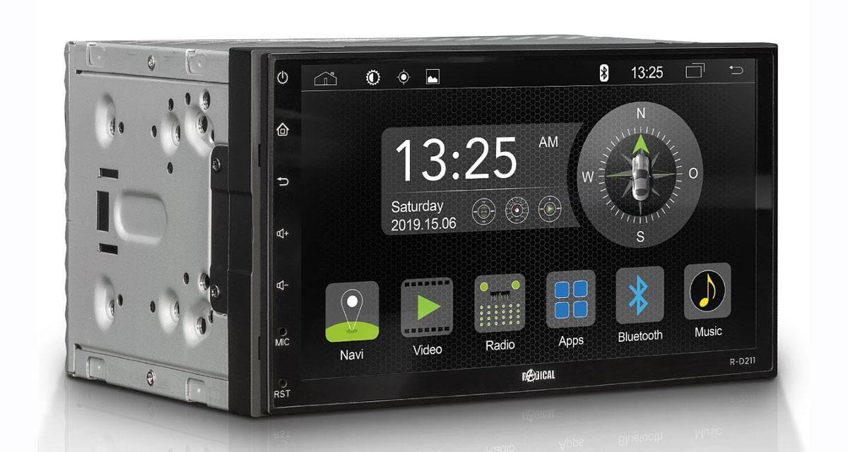 Radical commercial un nouvel autoradio Android 9 double DIN à un prix canon