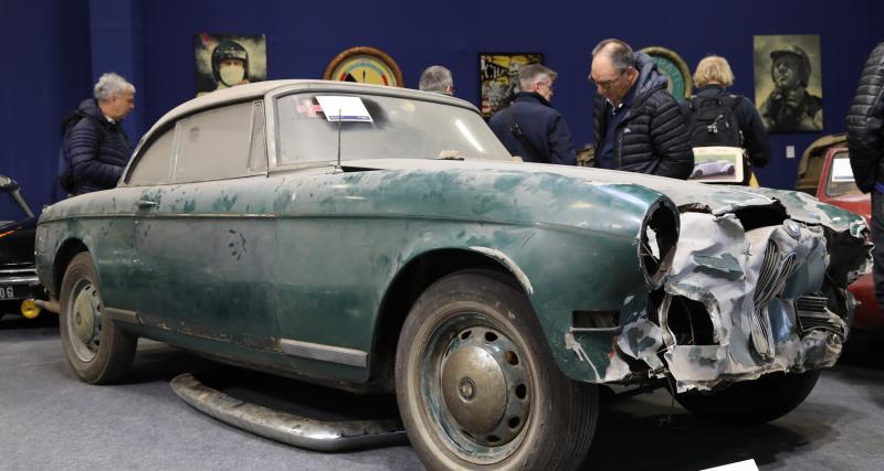 BMW 503 Coupé sortie de grange : fracassée mais estimée à 110 000 € !