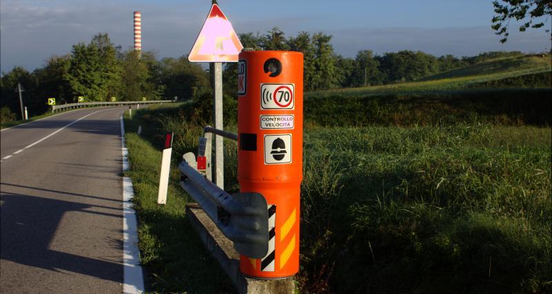 Radar tronçon et radar de feu