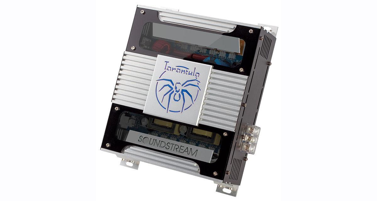 Soundstream présente sa nouvelle gamme d'amplificateurs Tarentula Extreme