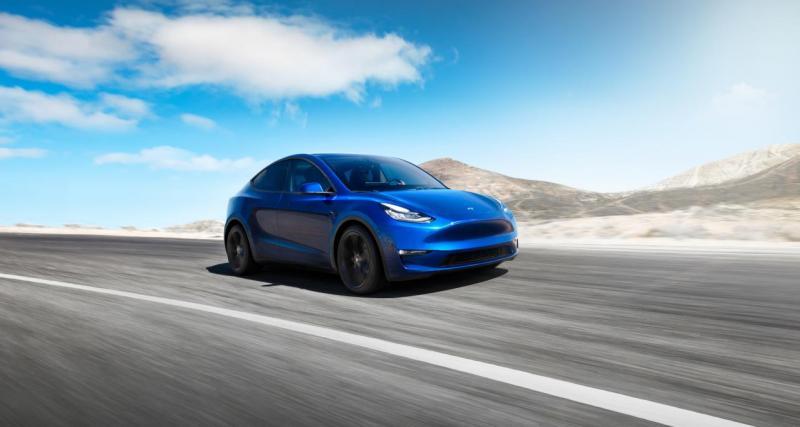 Tesla Model Y : une autonomie supérieure à 500 km !