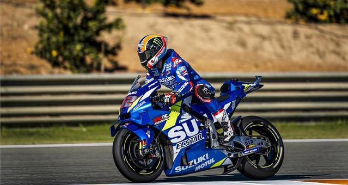 MotoGP : une livrée spéciale pour la nouvelle Suzuki