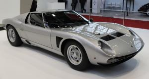 Lamborghini Miura SVJ : nos photos de la belle italienne à Rétromobile