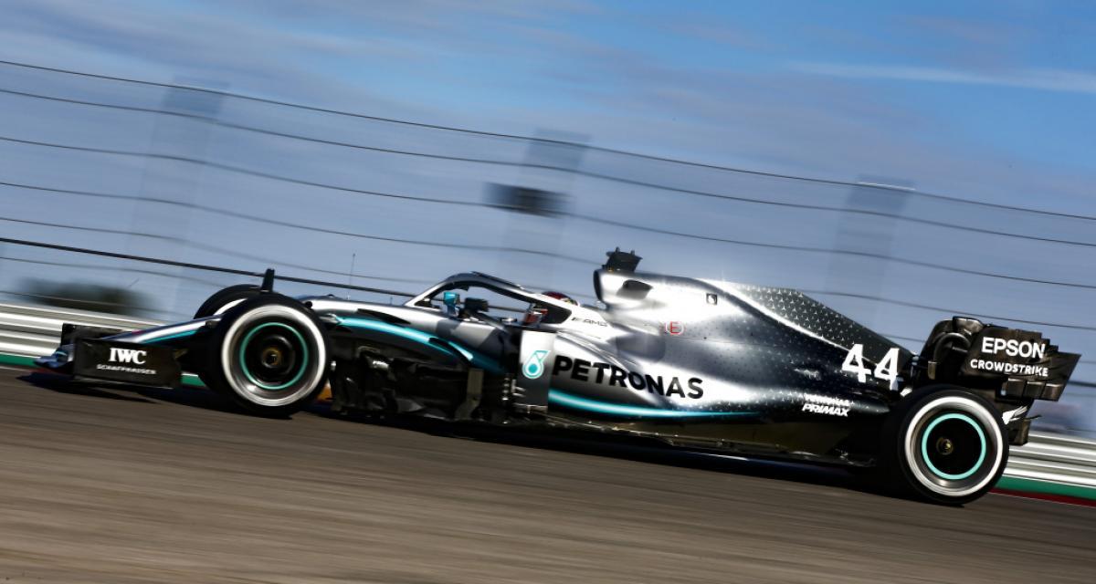 F1 : Mercedes a présenté sa W11