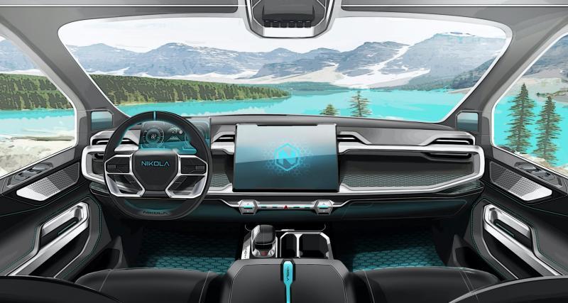 Ce pick-up électrique frôle les 1000 km d'autonomie — Nikola Badger