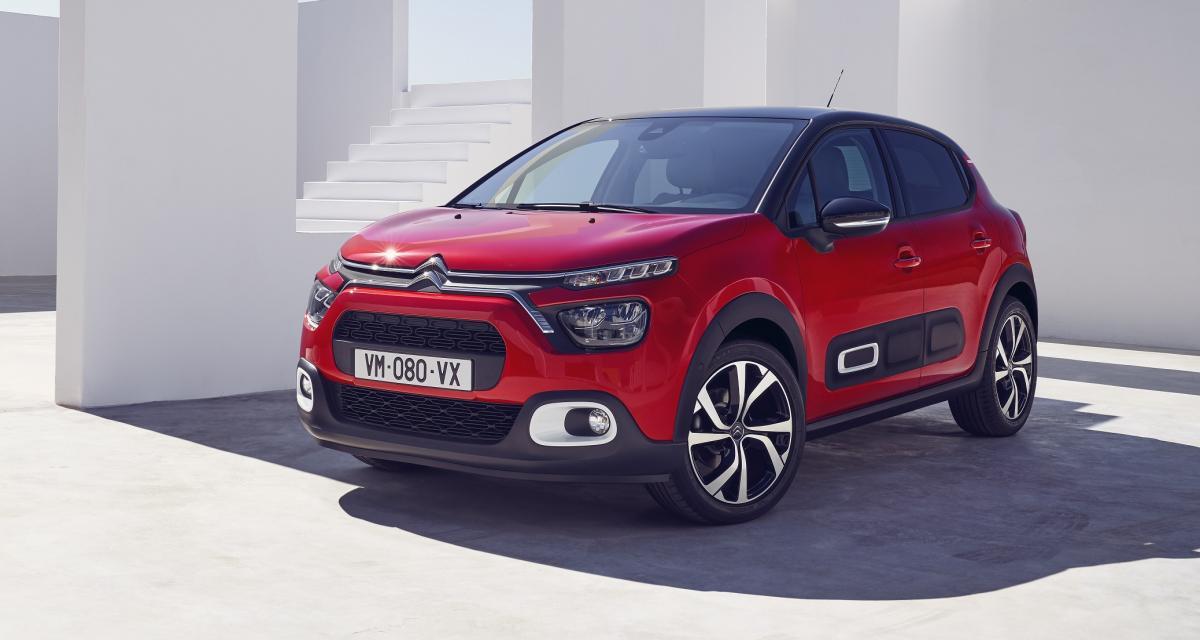Nouvelle Citroën C3 (2020) : restylage léger pour la citadine aux chevrons