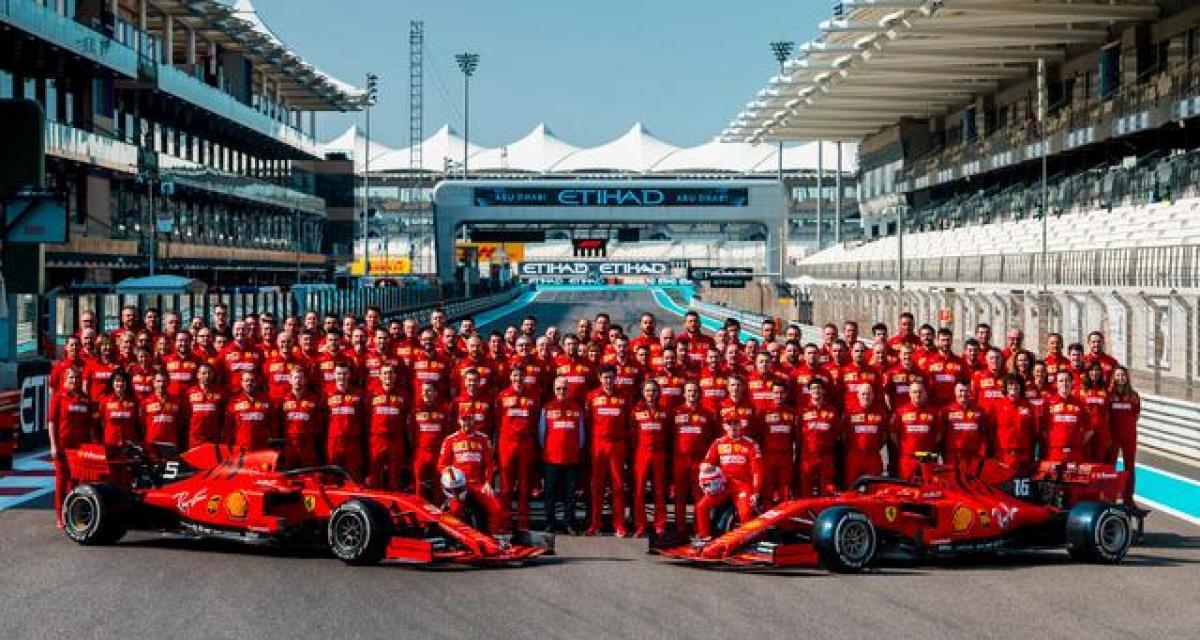 F1 : Ferrari dévoile sa monoplace version 2020