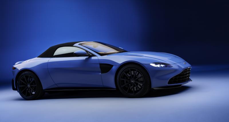 Aston Martin Vantage Roadster (2020) : découvrable express !
