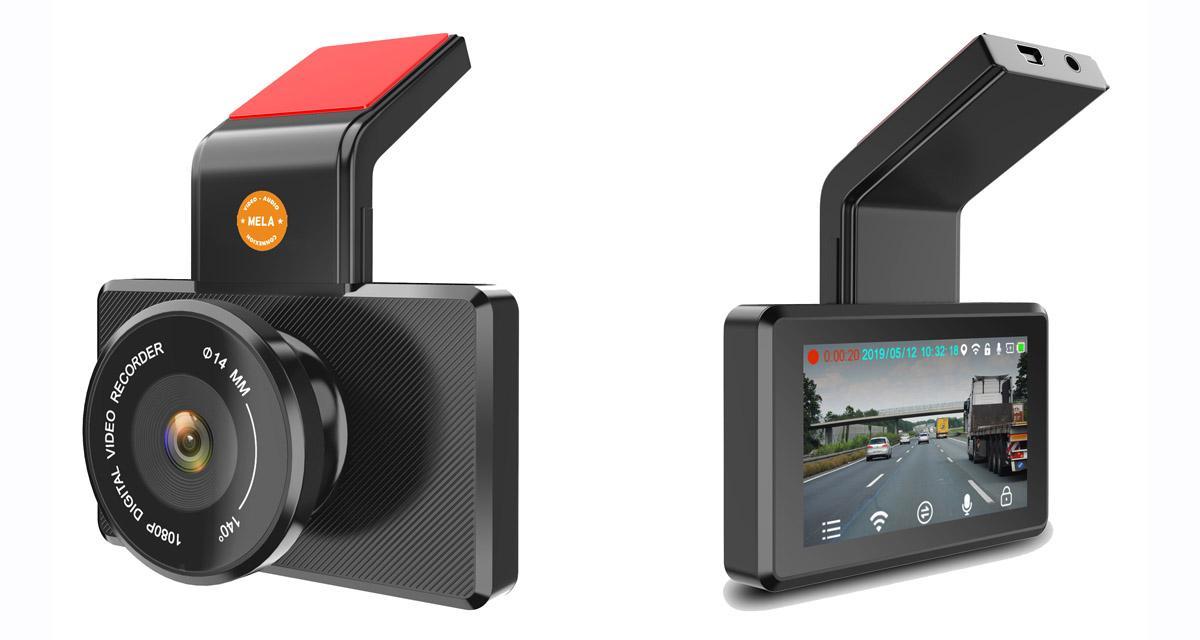 Mela commercialise une caméra DVR bien pensée à un prix attractif