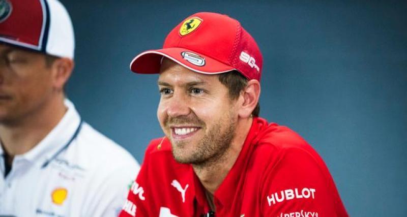 F1 : Ferrari veut prolonger Vettel