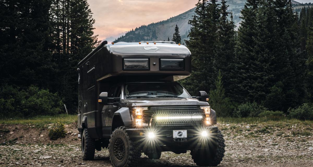 EarthRoamer LTi : un camping-car d'expédition tout-terrain