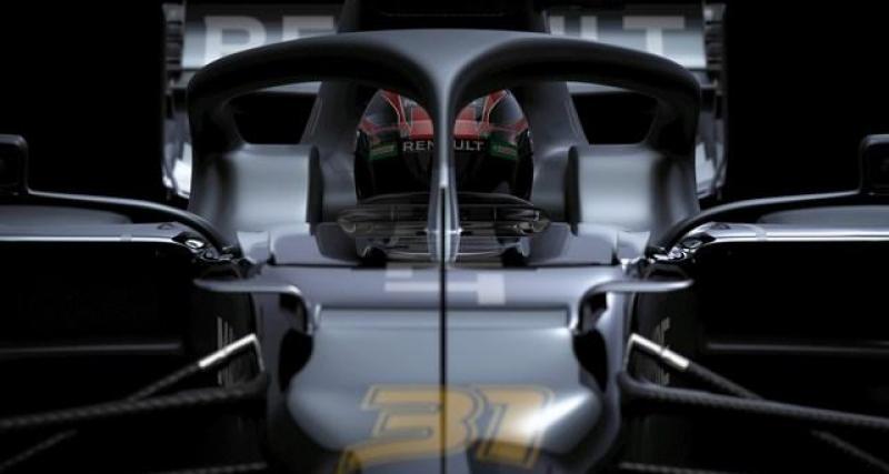 F1 - saison 2020 : Renault dévoile sa monoplace (en partie)