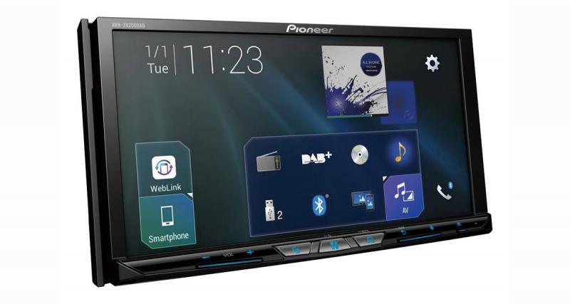 Un autoradio CarPlay et Android Auto avec Wi-Fi chez Pioneer