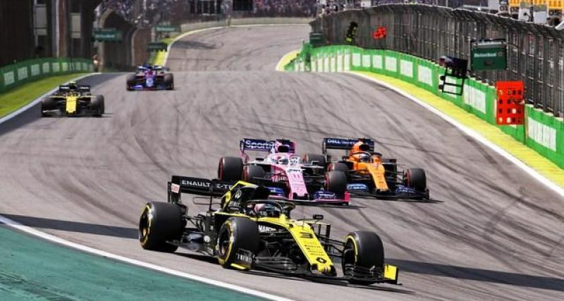 Le message de la FIA
