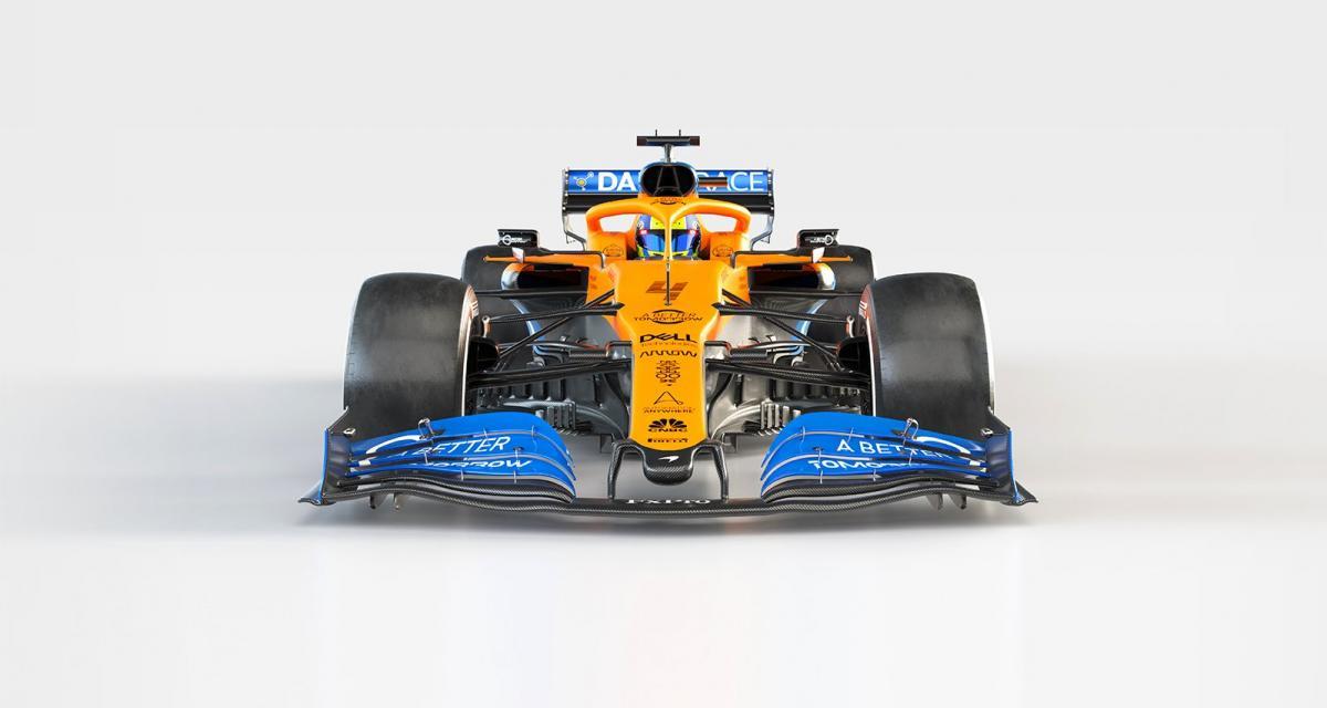 F1 : McLaren dévoile sa MCL35