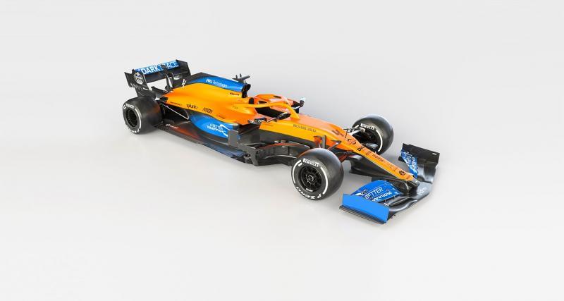 Le tweet de McLaren