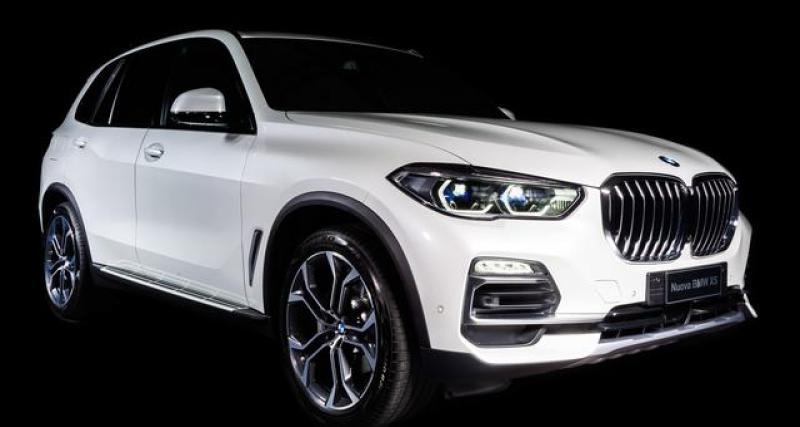 BMW X5 Timeless Edition by Alcantara : 50 exemplaires tout en douceur