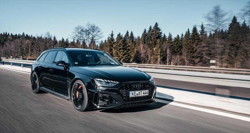Audi RS4 par ABT Sportsline : 510 ch pour la petite dernière