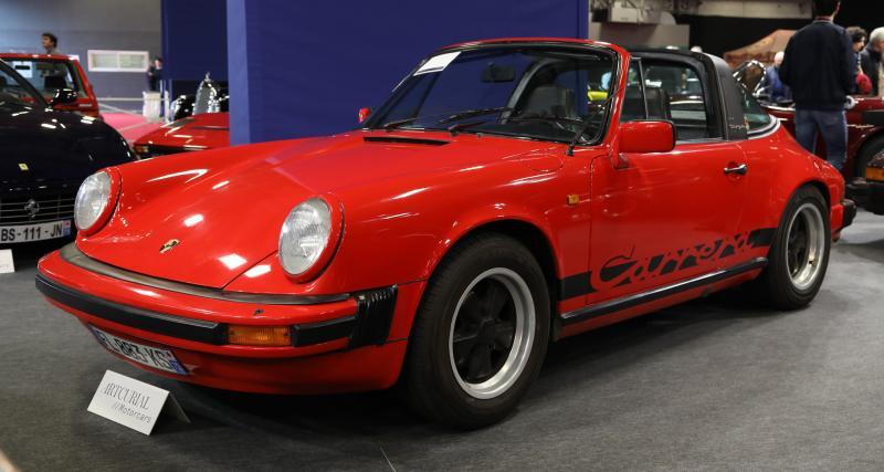 Rétromobile 2020 : nos photos des plus belles Porsche de route vendues par Artcurial