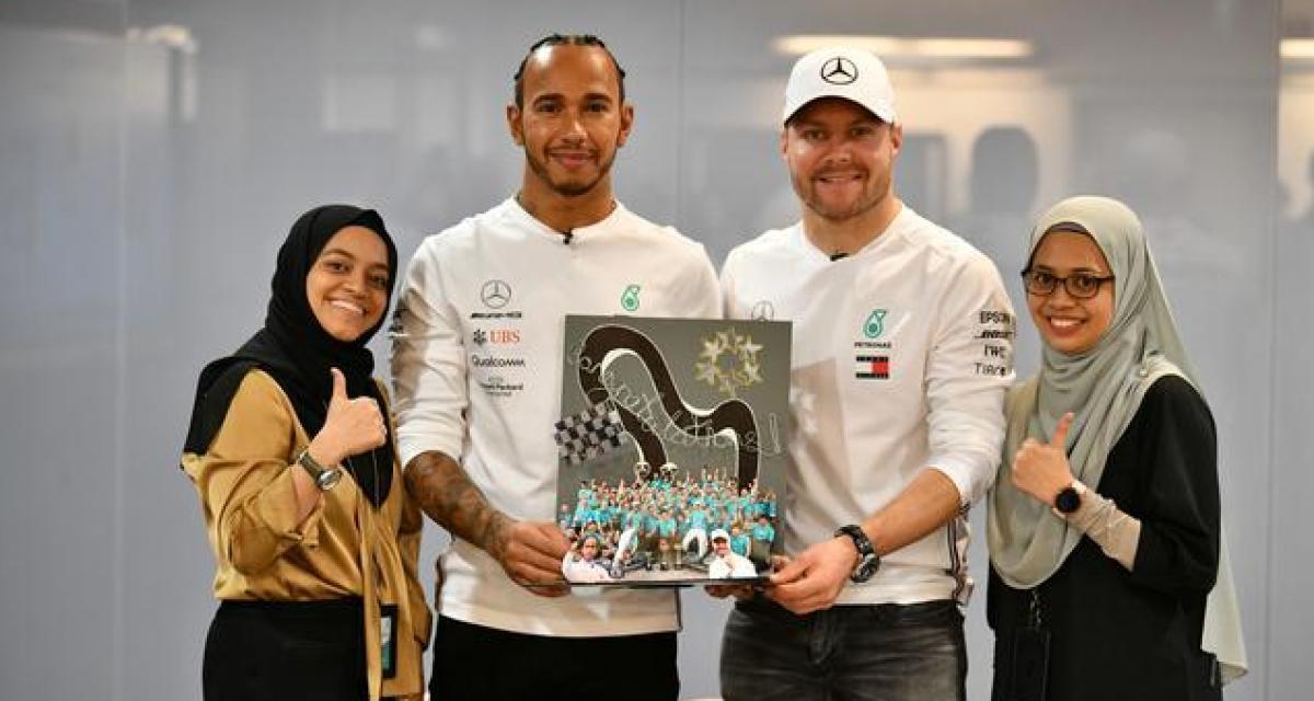 F1 : Mercedes dévoile sa W11