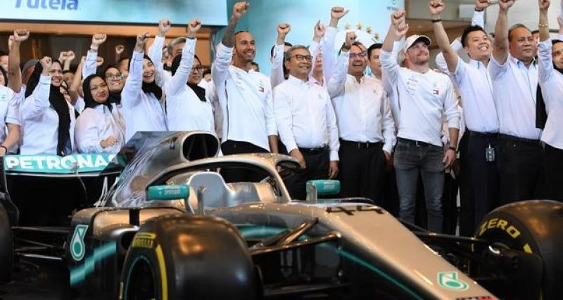 Le tweet de Mercedes