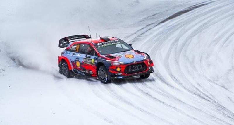 WRC - Rallye de Suède : Evans prend le meilleur départ, Tänak juste derrière