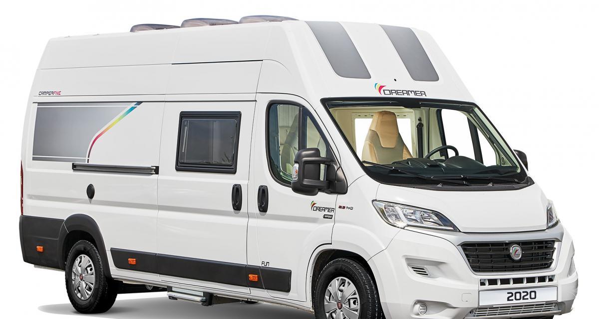 Dreamer Camper Five : le fourgon aménagé idéal pour les voyages en famille