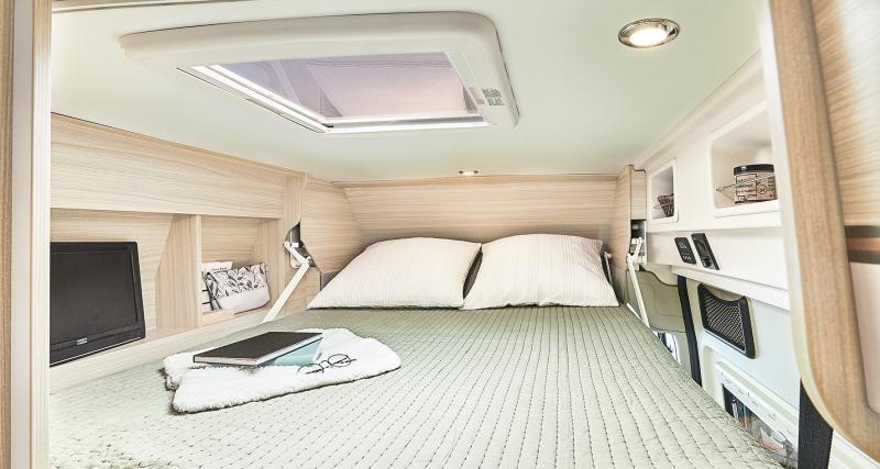 Un intérieur très spacieux
