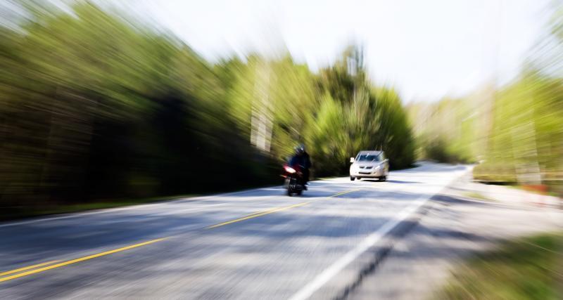 À 230 km/h sur une route ardéchoise : le motard bat le record d'excès de vitesse
