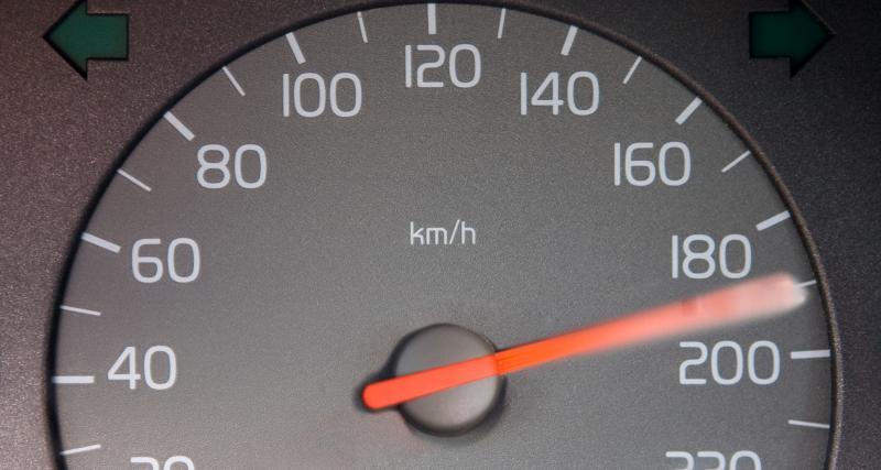Supérieur ou égal à 50 km/h : grand excès de vitesse