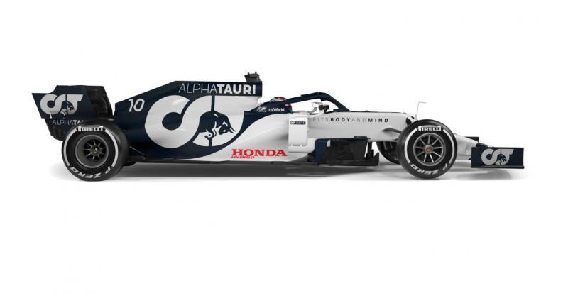 F1 : Gasly et Alpha Tauri en piste à Misano