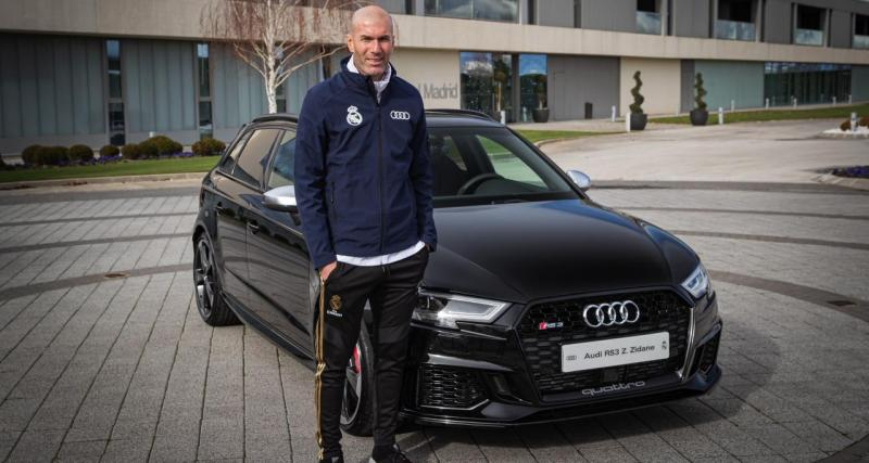 Zidane percute un automobiliste avec son Audi RS3 : ça se termine en selfie !