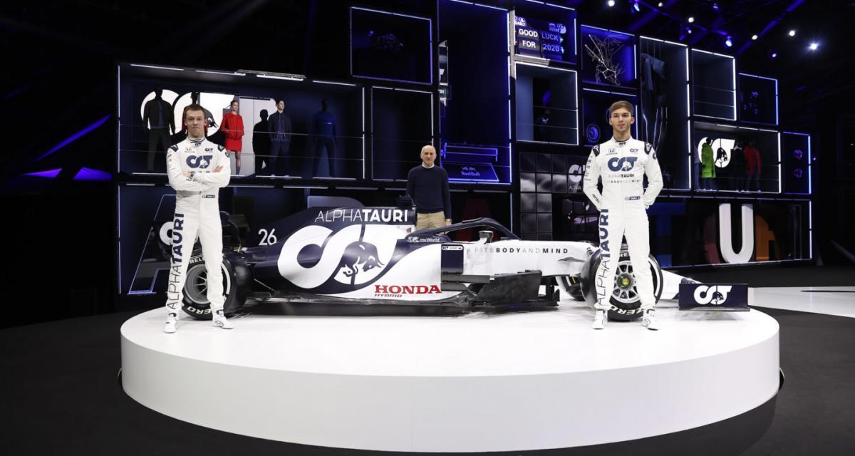 """F1 : Gasly : """"Je veux retourner chez Red Bull dans le futur"""""""