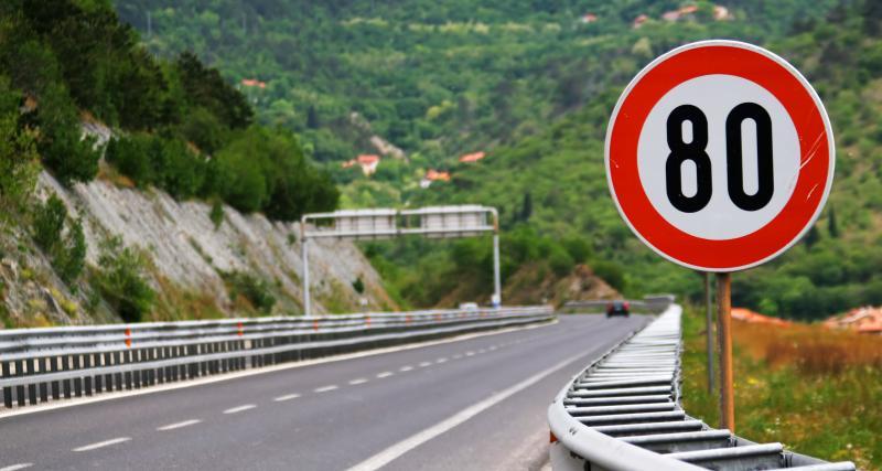 À 184 km/h sur une route limitée à 80 !