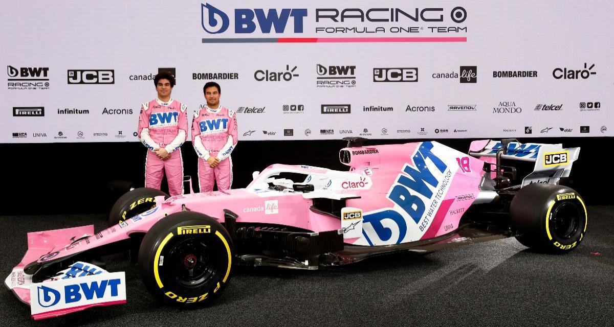 F1 : Racing Point présente sa monoplace version 2020
