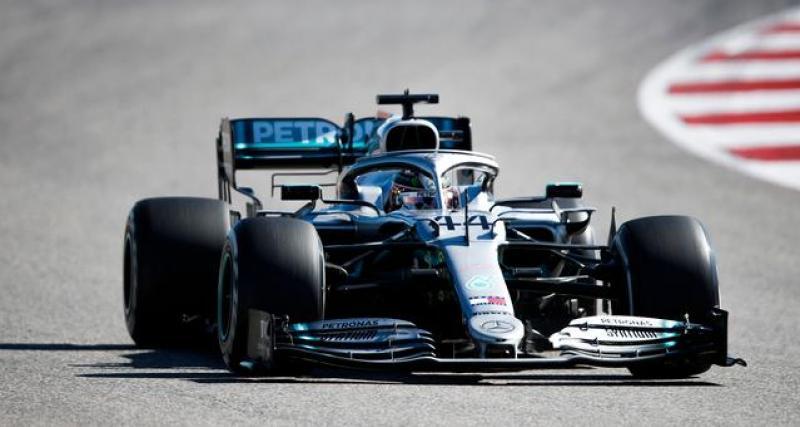 Le tweet de Lewis Hamilton