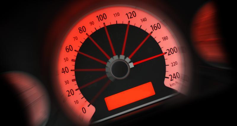 En excès de vitesse… et sans permis !