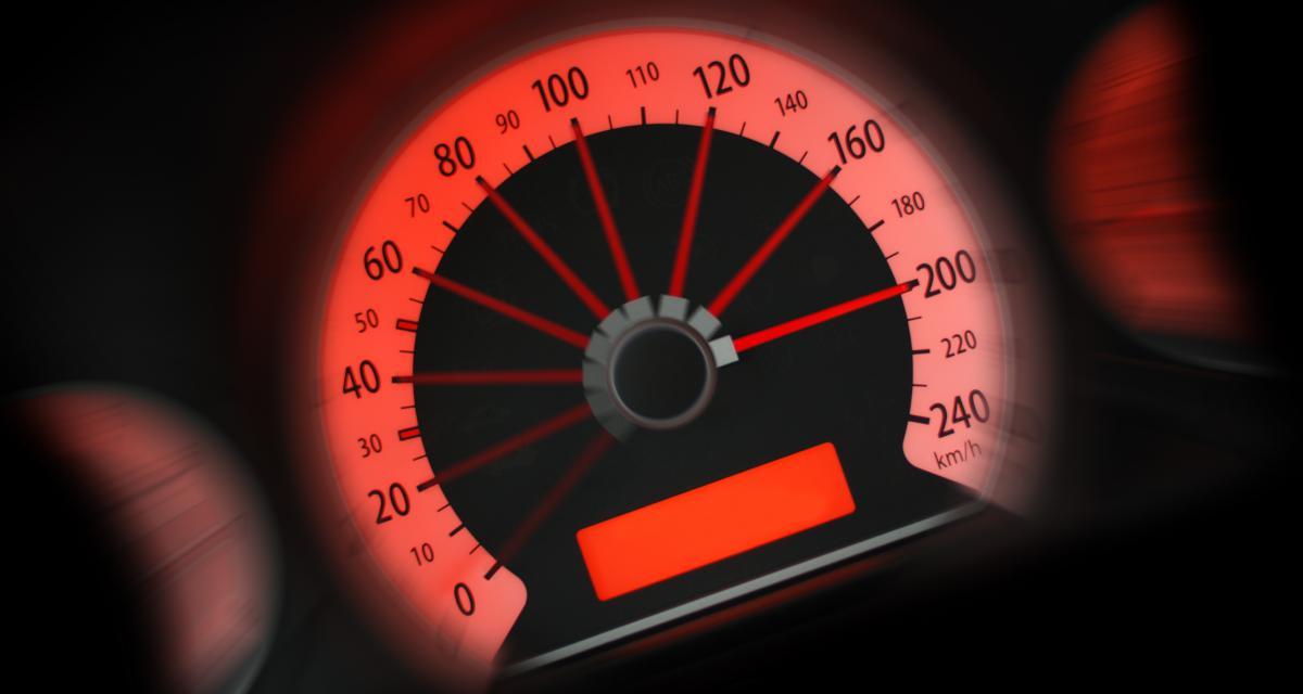 À 158 km/h sur une départementale, rendez-vous au tribunal