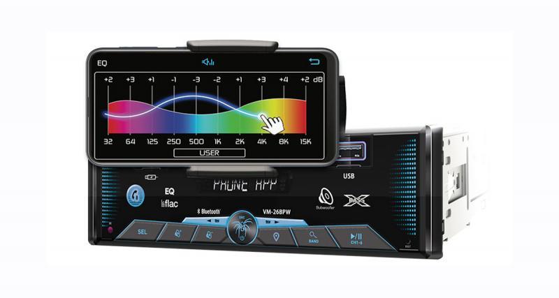 Soundstream dévoile un autoradio 1 DIN avec dock Smartphone