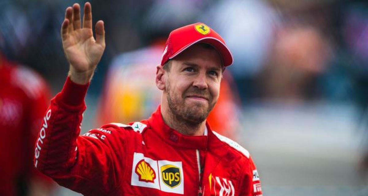 F1 - tests à Barcelone : Vettel à l'arrêt
