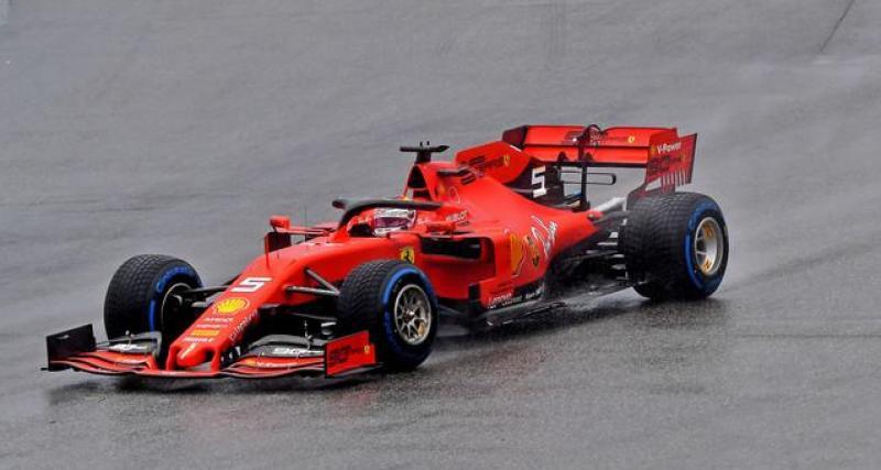 La déclaration de Sebastian Vettel
