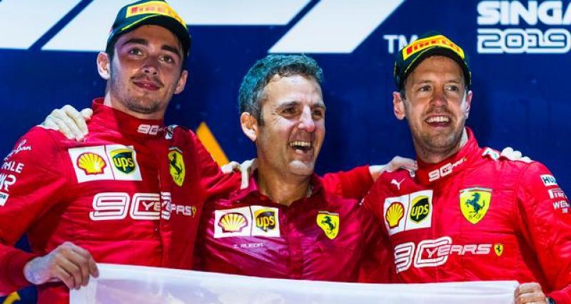 F1 - tests à Barcelone : Binotto pas inquiet par les temps modestes de Leclerc et Vettel