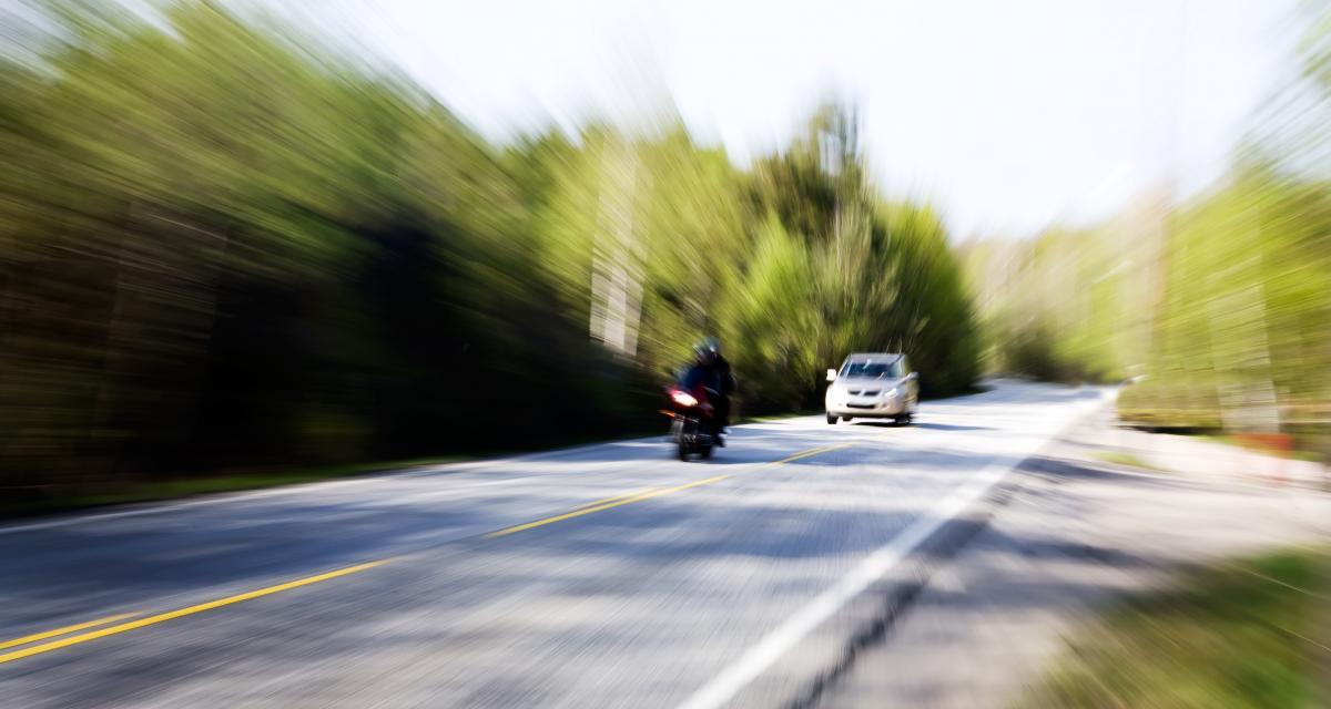 Sous l'emprise de stupéfiant à plus de 200 km/h en moto, il attend son passage au tribunal