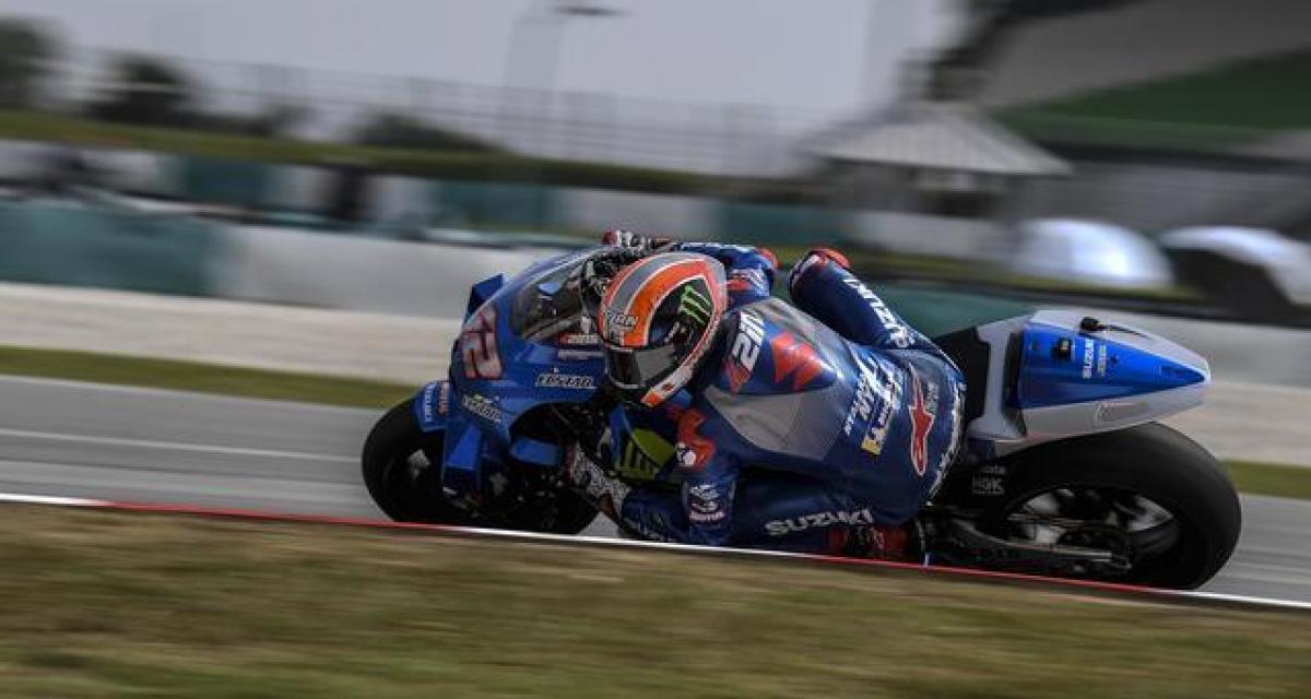 Tests d'avant-saison au Qatar : Suzuki se régale, Quartararo en difficulté