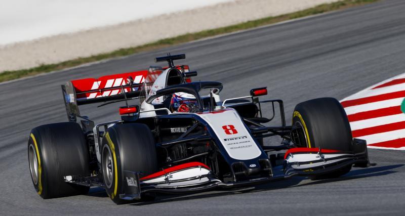 La déclaration de Romain Grosjean