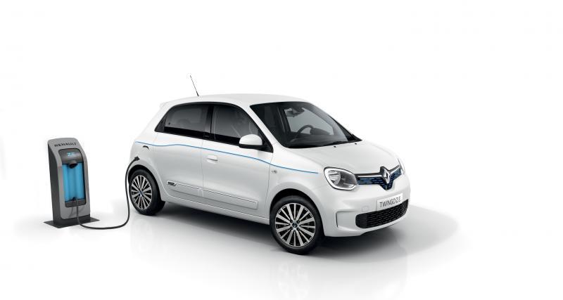 Renault Twingo Z.E. : jusqu'à 250 km d'autonomie pour la petite soeur de la Zoé