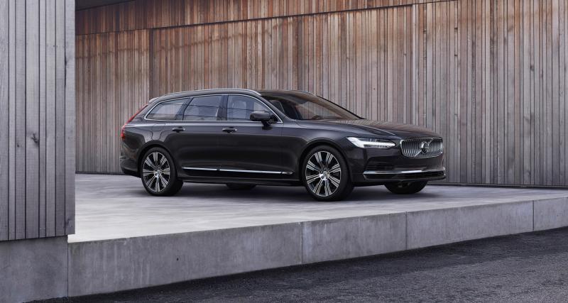 Volvo S90 et V90 (2020) : restylage et mild-hybride en prime pour toute la gamme