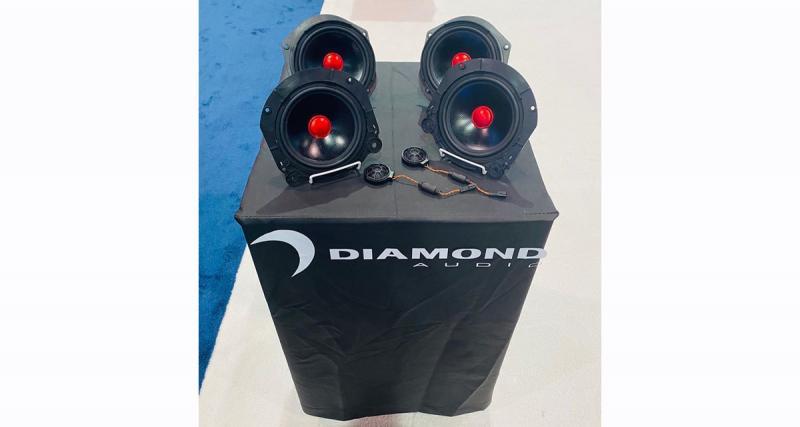 Diamond Audio présente des haut-parleurs hi-fi «plug and play » pour les Tesla